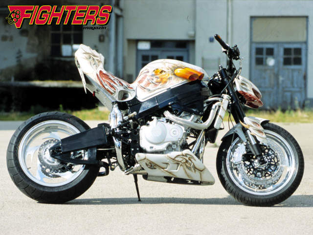 Supermoto street fighter